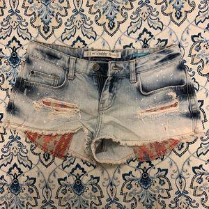 Zara short shorts